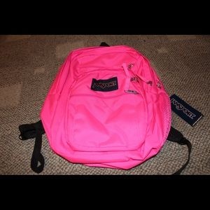 Jansport Big Student Backpack Ultra Pink